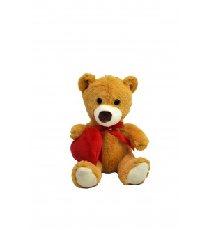 15 cm Bear with heart
