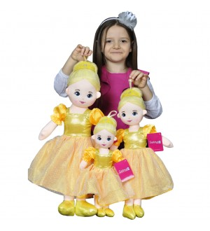 Doll Yellow 40-50-60 Cm