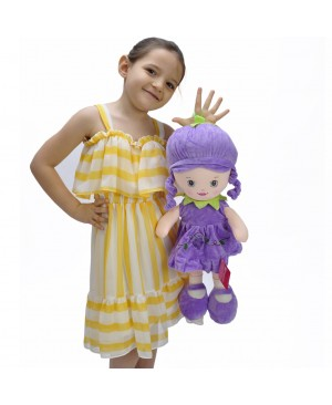 Doll 47 CM Purple