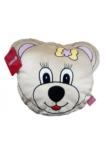 35 cm bear figured pillow