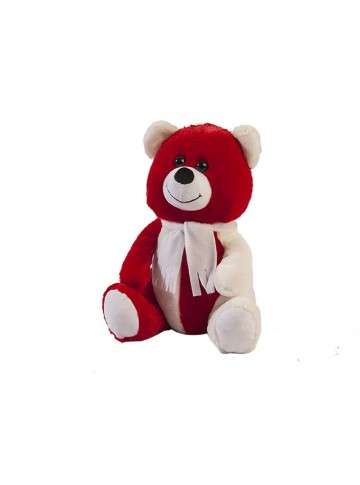 Two Colored Plush Bear 30 cm