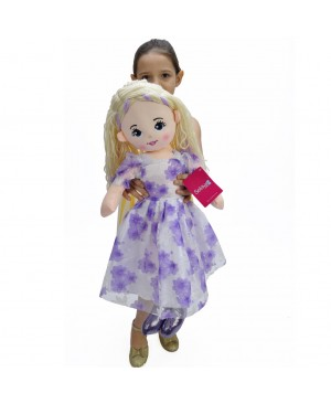 Doll 60 CM purple