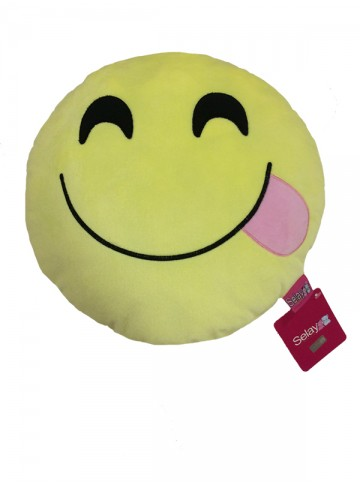 35 cm Happy Emoji Pillow