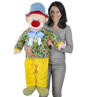 105 cm Plush Clown