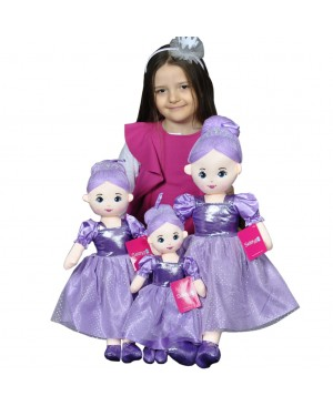 Doll Purple 40-50-60 Cm
