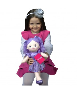 Doll 40 CM purple