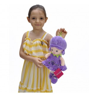 Doll 37 CM Purple