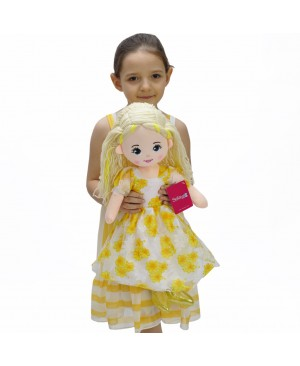 Doll 60 CM yellow