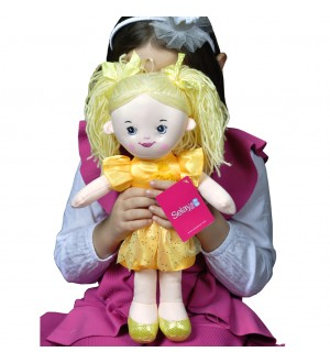 Doll 40 CM yellow