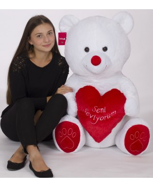80 cm Teddy Bear with Heart