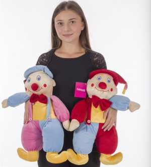 50 cm Plush Clown