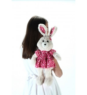 Plush Rabbit Backpack
