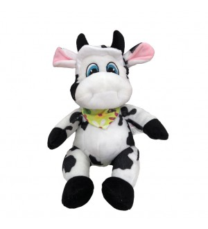 30 cm Plush Cow with a Heart